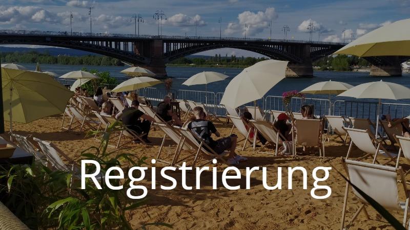 【ドイツの夏】海はなくとも川辺バーはある でもちゃんと登録してね【リアルなドイツ語】